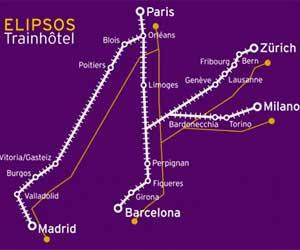Elipsos Train hotel